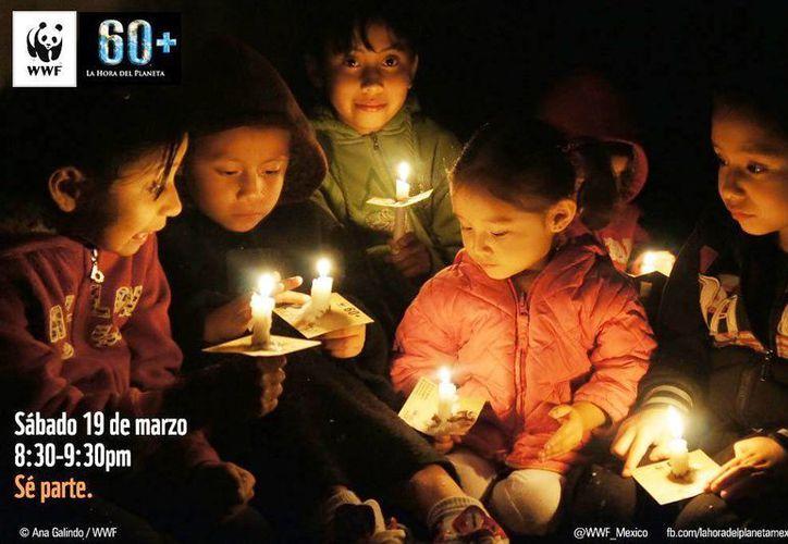 Se espera que todos los gobiernos participen apagando las luces de sus edificios más emblemáticos. (@CEMDA)