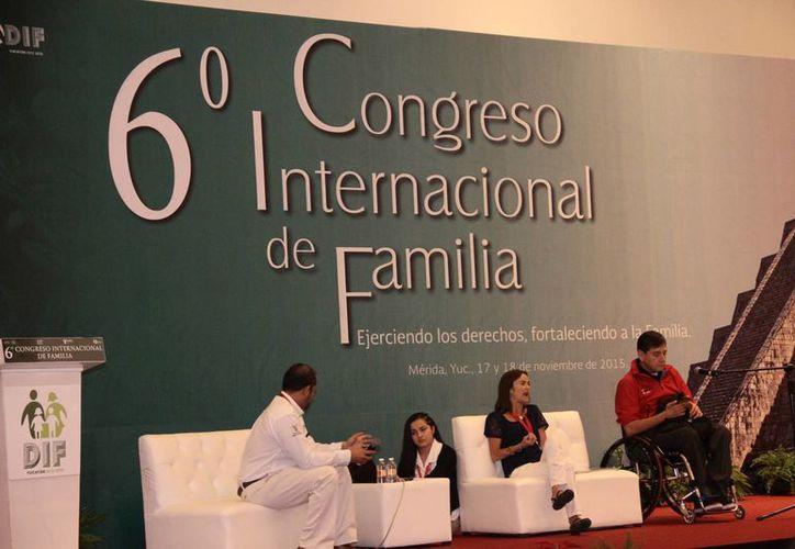Este miércoles concluyó el VI Congreso Internacional de la Familia 2015. (Jorge Acosta/SIPSE)