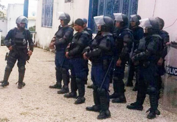 Luego de varios filtros, sólo 50 de los 53 candidatos serán admitidos en el cuerpo de policía bacalarense.  (Javier Ortiz/SIPSE)