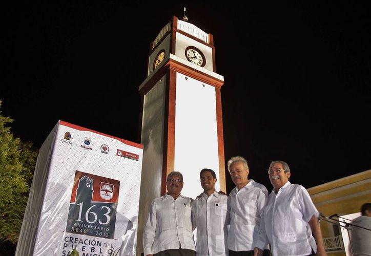 Oficialmente se comenzó a celebrar el aniversario del nacimiento de Cozumel en el año 2012. (Gustavo Villegas/SIPSE)