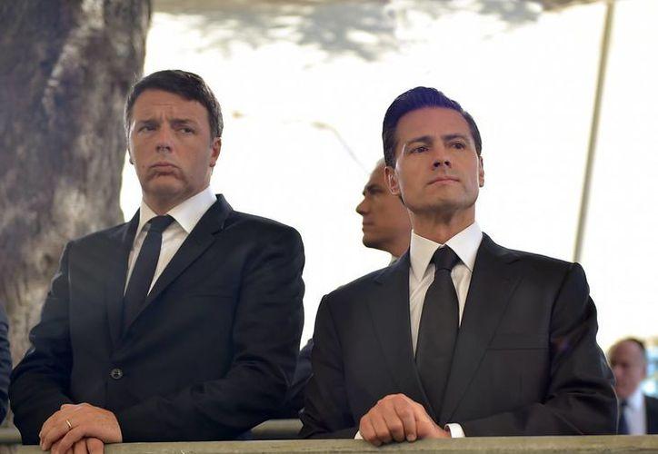 Peña Nieto se encontraba en Israel en los funerales de Shimon Peres cuando le fue notificado un ataque a militares en el estado de Sinaloa. (Presidencia)