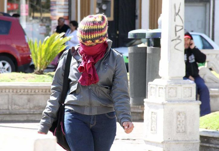 Estados como Sonora y Durango registrarán temperaturas menores a los -5 grados, advirtió el SMN. (Notimex)