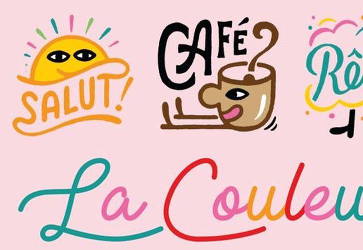"""La colección de stickers """"La Couleur"""" se presenta como: """"¡Por un mundo más colorido!"""". (Facebook)"""