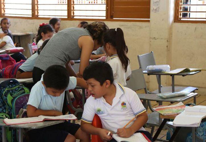 A través de la página www.seq.gob.mx, los padres podrán registrar a sus hijos. (Redacción/SIPSE)