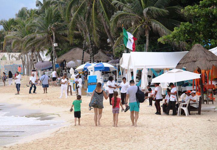 Ha sido una de las semanas con más baja ocupación en lo que va del año en Playa del Carmen. (Octavio Martínez/SIPSE).
