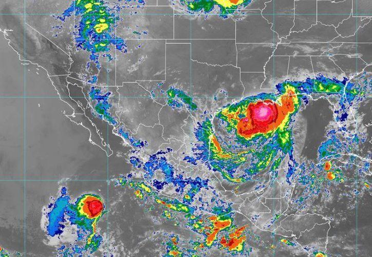Las ondas tropicales no representan peligro para el estado. (SMN)