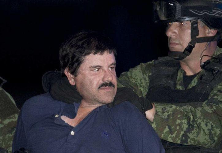 Uno de los hijos de Joaquín Guzmán Loera está entre los seis hombres secuestrados de un restaurante en Puerto Vallarta, Jalisco, y podría ser utilizado para negociar con el capo. (Archivo AP/Marco Ugarte)