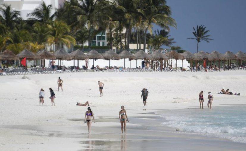 Las playas podrían ser adquiridas para desarrollos inmobiliarios.  (Israel Leal/SIPSE)