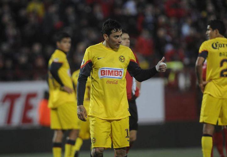 Rubens Sambueza renovó contrato con Águilas del AMérica. (100x100fan.mx)