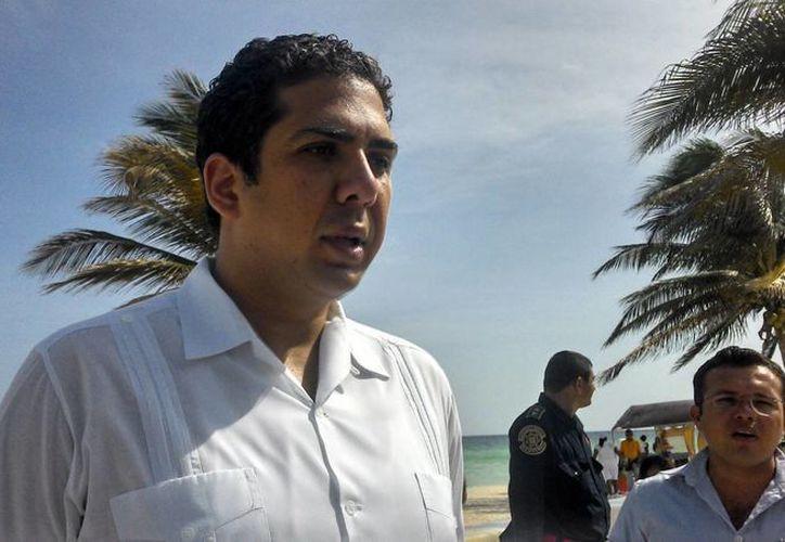 El alcalde de Progreso, Daniel Zacarías Martínez. (Milenio Novedades)