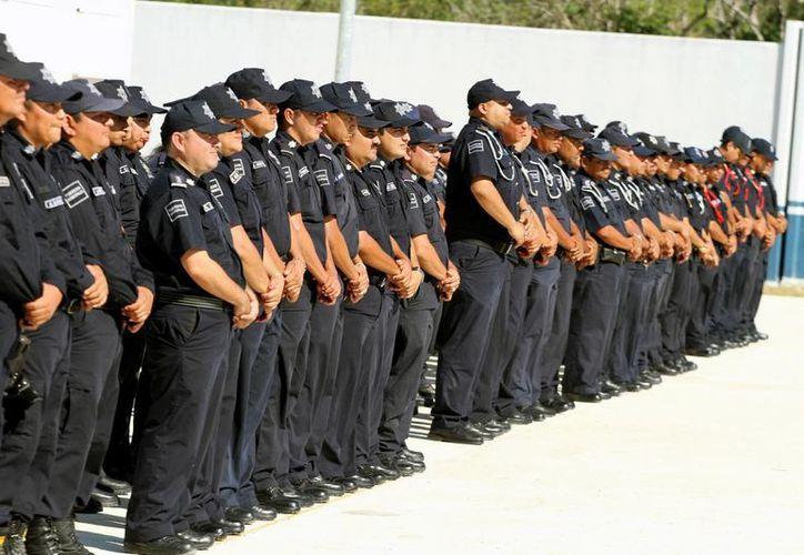La Dirección se Seguridad Pública será una de las sedes de la capacitación que recibirán sus elementos.  (Adrián Monroy/SIPSE)