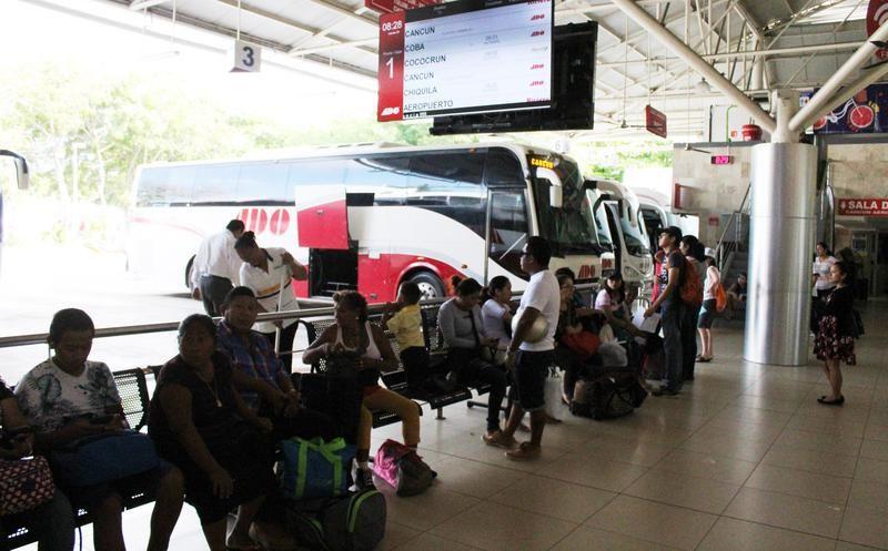 Quadratín: Fortalecen seguridad líneas de autotransporte por medidas migratorias