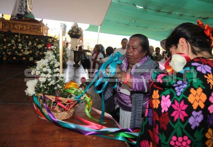 Participaron peregrinos del Congreso Pastoral de Pueblos Originarios. (Milenio Novedades)