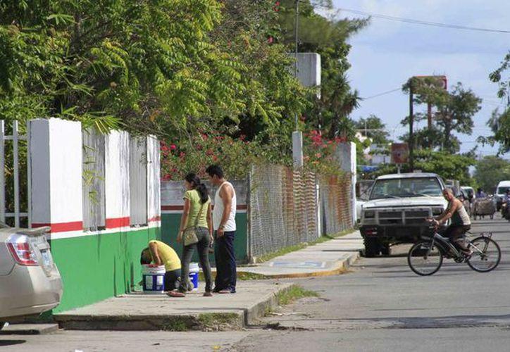Las familias que participan viven cerca de las escuelas. (Harold Alcocer/SIPSE)