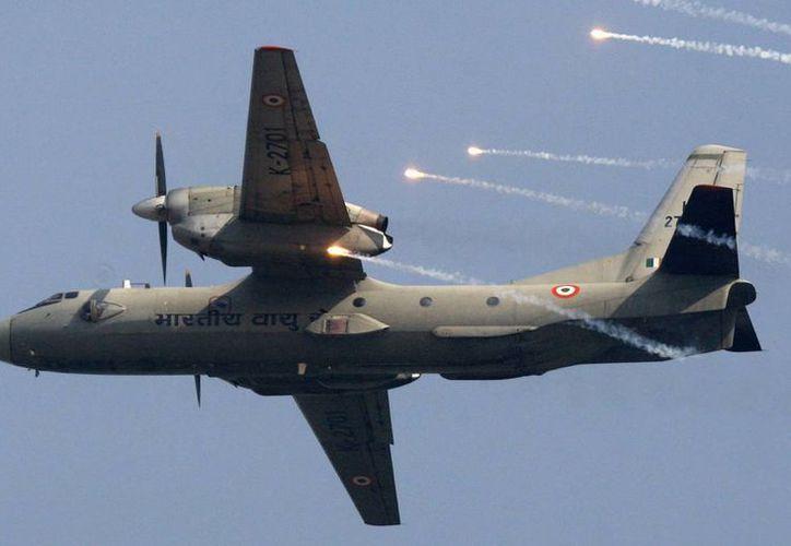 El avión militar tipo Antonov An-32 se dirigía a la ciudad de Port Blair, capital del archipiélago indio de Andamán y Nicobar, (AP)