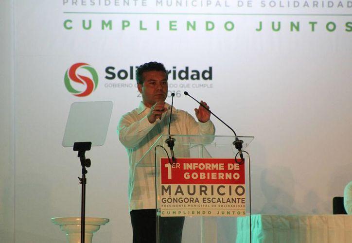 El expresidente municipal de Solidaridad, Mauricio Góngora y su sucesor, Rafael Castro, contrataron créditos que no saldaron. (Redacción/SIPSE)