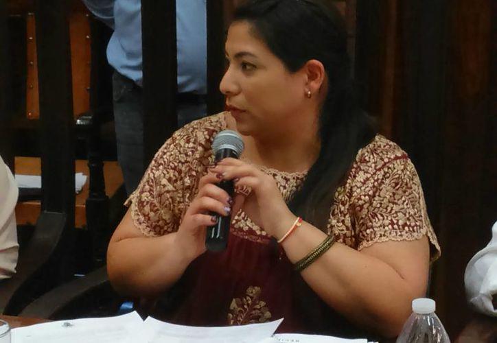 Regidora Marisol Gómez García, presidenta de la Comisión de Grupos Vulnerables del Cabildo de Mérida. (SIPSE)