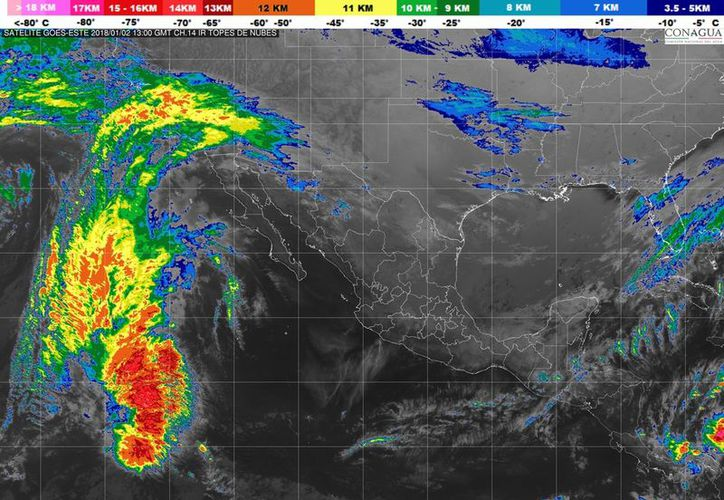 Existe 50% de probabilidad de lluvias en Cancún. (Servicio Meteorológico Nacional)