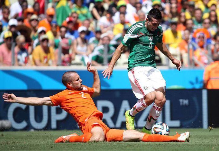 Tan sólo por la señal de ESPN, el cotejo entre México y Holanda fue visto por 6.6 millones de personas en EU. (Archivo Notimex)