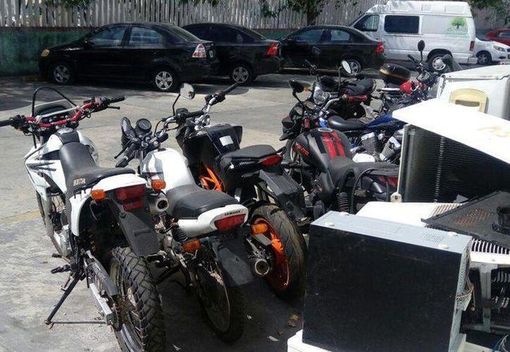 Las motocicletas son modelo 2016 y no tienen reporte de robo. (Redacción)