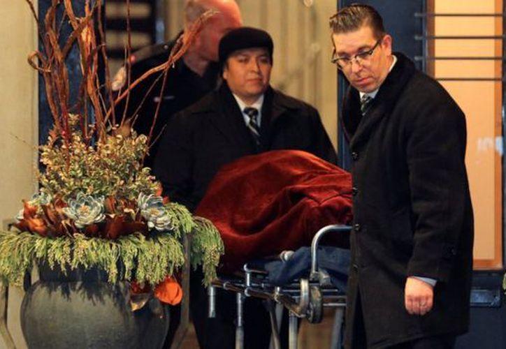 """""""Las circunstancias de su muerte parecen sospechosas y estamos tratándolo de esa manera"""" dijo el jefe de policía David Hopkinson. (Reuters)"""