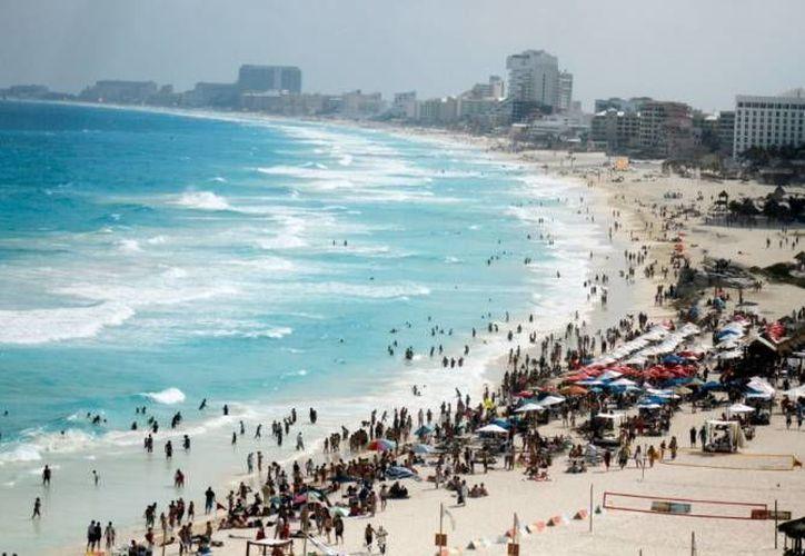 Las playas de Quintana Roo representan un gran atractivo para el turismo local. (Redacción/SIPSE)