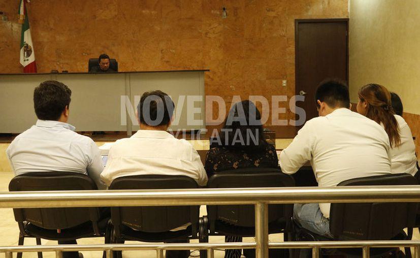 La audiencia se realizó en el Centro de Justicia Oral de Valladolid. (José Acosta/Novedades Yucatán)
