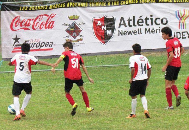 Atlético Newell Mérida sigue sin conocer la victoria tras cinco jornadas de la Liga de Futbol Sub-17.(Milenio Novedades)