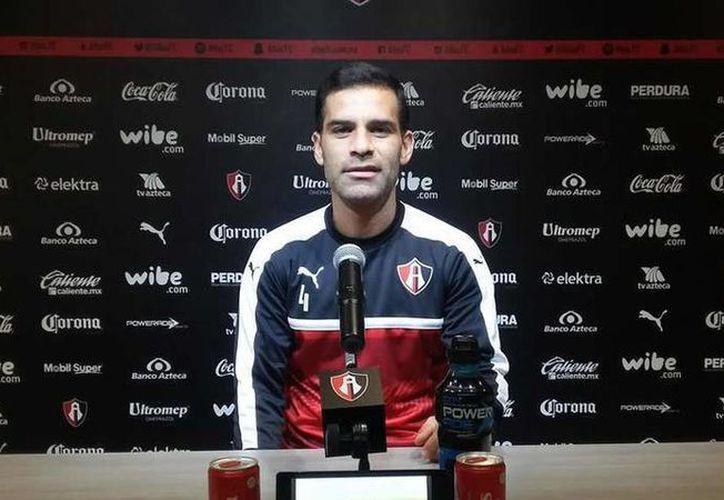 Rafael Márquez, jugador del Atlas y cuatro veces mundialista, insiste en dar forma a un sindicato de futbolistas. (Foto: Atlas)