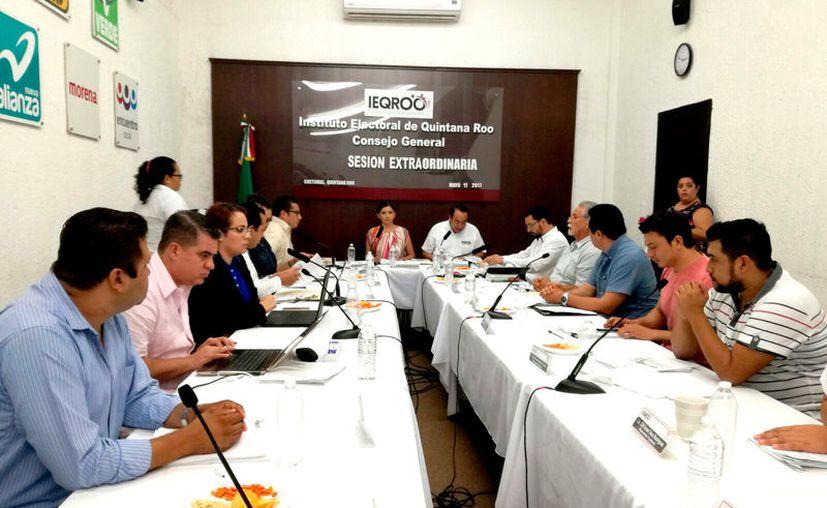 El Consejo General del Instituto Electoral de Quintana Roo aprobó los lineamientos en sesión extraordinaria celebrada ayer. (Foto: Benjamín Pat / SIPSE)