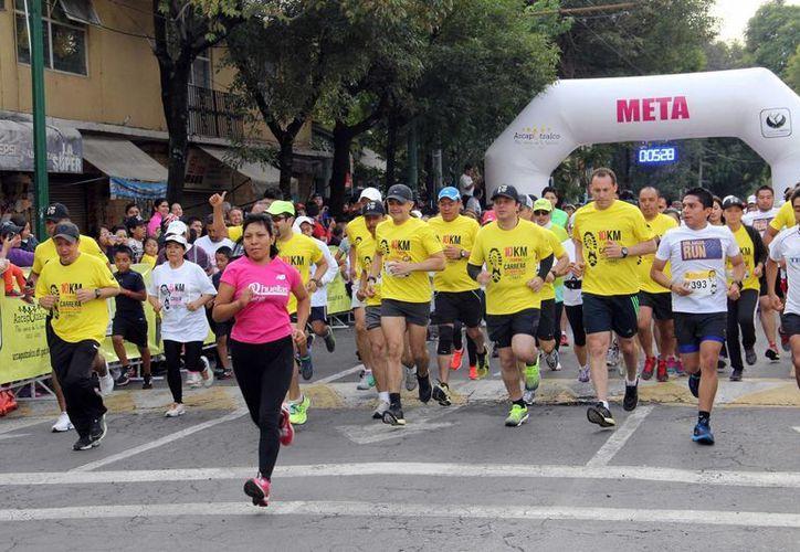 En México se espera reunir a más de 30 mil participantes en las ciudades de Guadalajara, Monterrey y Ciudad de México en la Global Energy Race.  (AP/Foto de contexto)