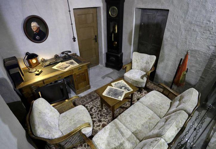 La réplica de un bunker de Hitler fue inaugurada en Berlín. (AP)