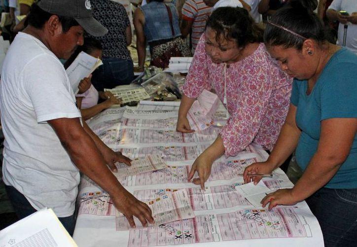 Cuatro partidos se llevaron la mayoría de votos. (Jesús Tijerina/SIPSE)