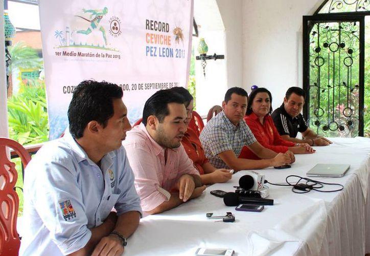 Durante una rueda de prensa se anunció una serie de eventos adicionales que se realizará en la isla. (Cortesía/SIPSE)