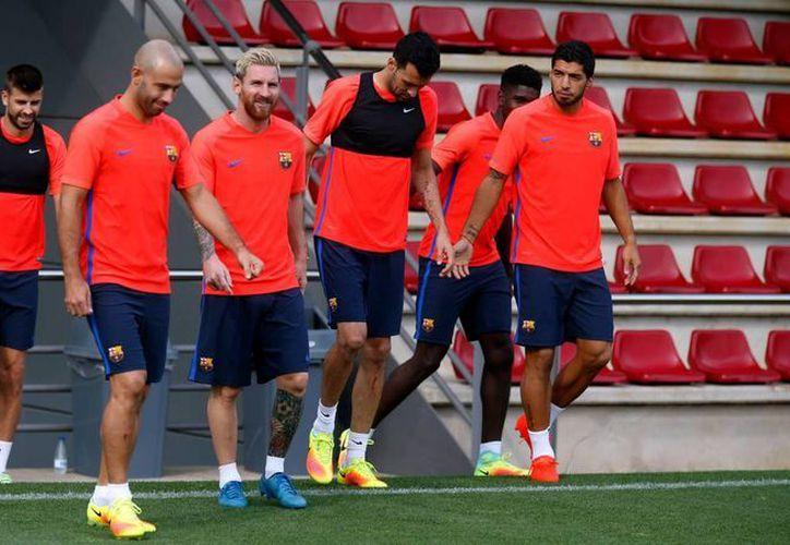 Barcelona quiere el tricampeonato en la Liga de España. (Imágenes/ Facebook)
