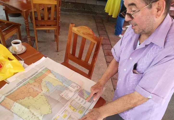 Raúl Santana Bastarrachea explicó que las localidades se ubican en una zona adjunta a Calakmul, Campeche. (Foto: (Foto: Javier Ortiz  / SIPSE)
