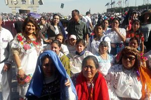 Celebra Papa Francisco misa en Basílica de Guadalupe