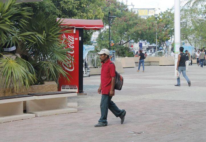 Los chiapanecos viven una especie de esclavitud al llegar a la entidad. (Jesús Tijerina/SIPSE)