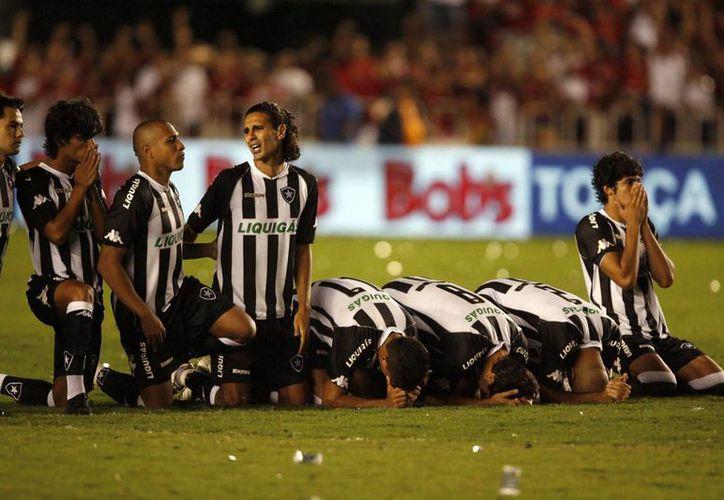 Una mala temporada y problemas internos, los principales culpables del descenso del Botafogo. (Foto: EFE)