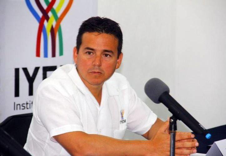Miguel Enríquez López habló sobre el impulso que otorgó el IYEM a los emprendedores en 2013 y 2014. (Milenio Novedades)