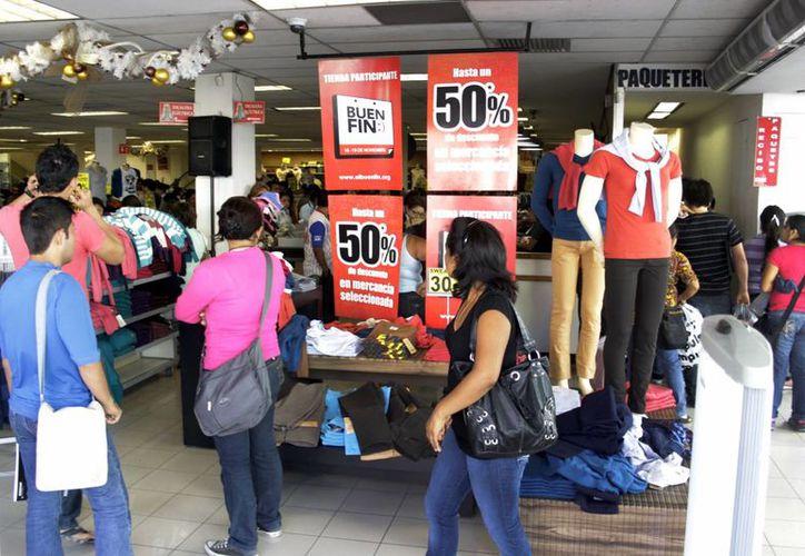 Con el crédito del Fonacot los yucatecos podrán realizar sus compras durante el Buen Fin. (Milenio Novedades)