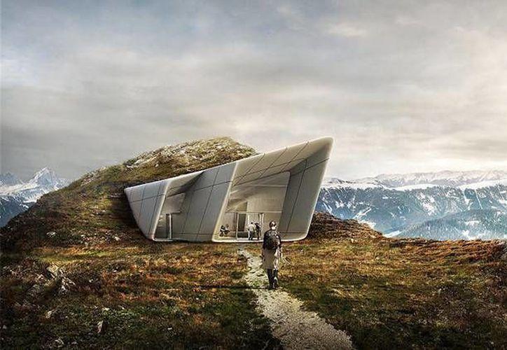 El alpinista italiano Reinhold Messner ha abierto su sexto y último museo dedicado a la montaña en la cumbre del Kronplatz. (mountain-museum.it)