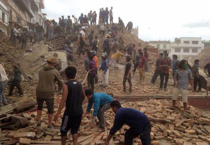El terremoto ocurrido en abril pasado se reportó como el más destructivo en la historia de Nepal, esto fue porque tuvo características muy distintas a los que anteriormente habían afectado al país asiático. (AP)