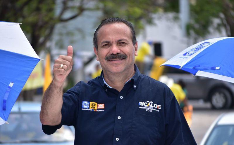 Julián Ricalde, postulante al Senado, recorrió el municipio de Tulum, donde destacó sus atractivos naturales y culturales. (Redacción/SIPSE)