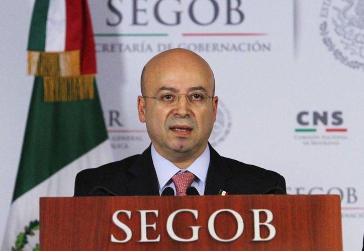 Renato Sales indicó que el trato a Joaquín Guzmán Loera en la cárcel ha estado apegado a los derechos fundamentales. (Archivo/Notimex)