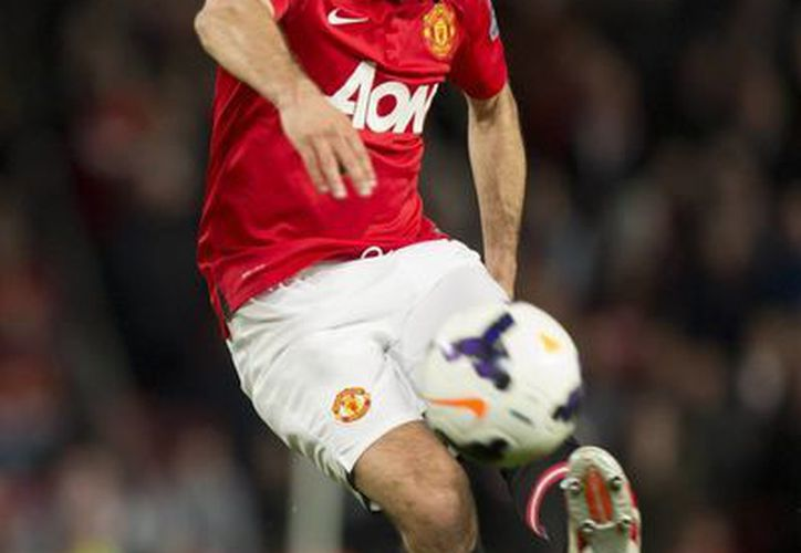 Ryan Giggs jugó 921 partidos con el Manchester United desde 1990 hasta 2014. (Foto: AP)