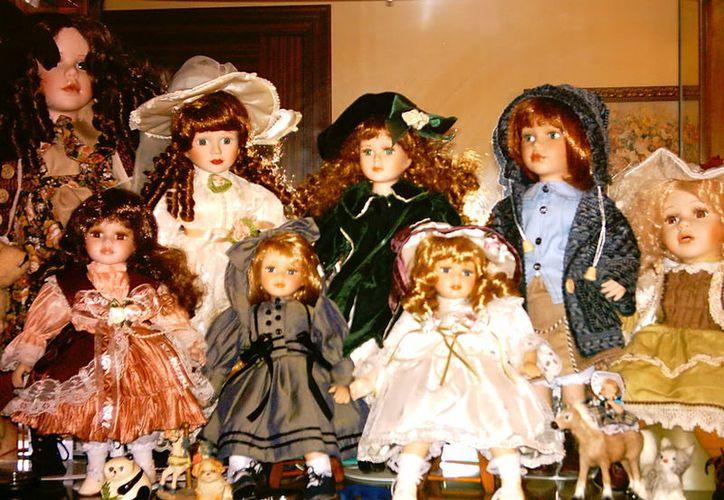 Una mujer de Mérida narra la experiencia paranormal que tuvo con las muñecas que fueron propiedad de su abuela. (Jorge Moreno)