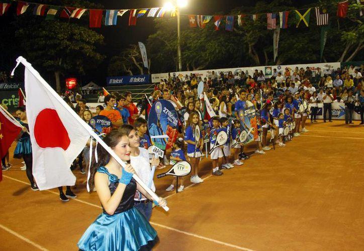 La Copa Yucatán es considerada la competencia juvenil más importante de tenis en la región. (Juan Albornoz/SIPSE)