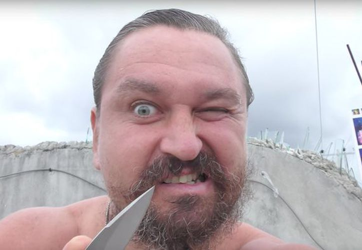 Makeev fue encarcelado en México por su actitud violenta. (Redacción/SIPSE)