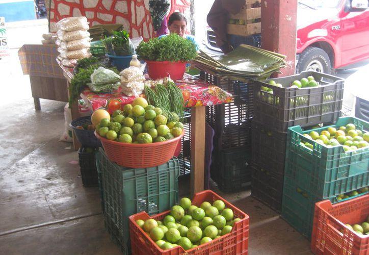 En el mercado principal de Bacalar es difícil encontrar el producto. (Foto: Javier Ortiz)